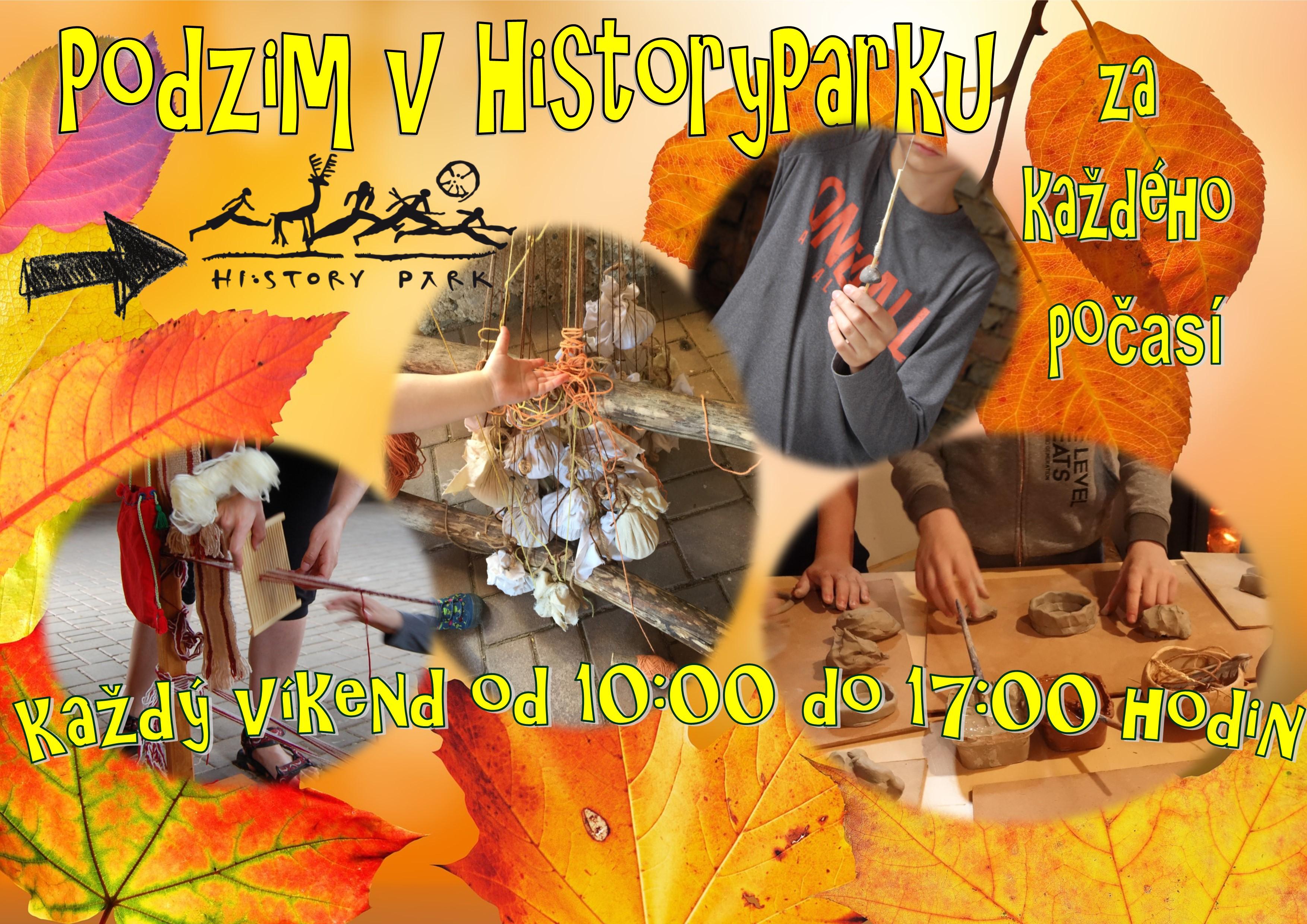 Podzim v Historyparku – každý víkend od 10:00 do 17:00 hodin